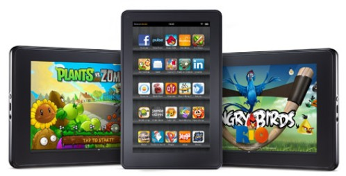 Amazon Kindle Fire во всей красе